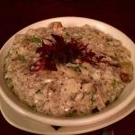 Mushroom and truffle risotto