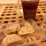 Ice lemon Tea & dumplings